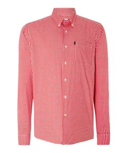 Barbour | Mens Gingham Long Sleeve Collar Shirt Classic Fit