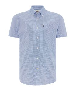 Barbour | Mens Triston Short Sleeve Gingham Shirt