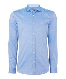 HUGO BOSS | Mens Ridley Slim Fit Shark Collar Oxford Shirt