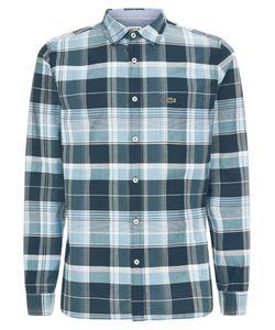 Lacoste | Mens Regular Fit Shirt In Check Poplin