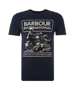 Barbour | Mens Short Sleeve Hill Climb Motorcycle Crew