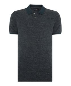 Paul Smith Jeans | Mens Regular Fit Marled Stripe Polo Shirt