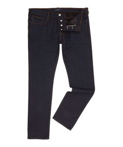 Paul Smith | Mens Tapered Fit Black Wash Jeans