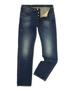 Paul Smith | Mens Regular Fit Navy Antique/Vintage Wash Denim Jeans