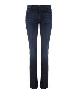 7 For All Mankind | High-Waist Bootcut Jeans In Los Angeles Dark