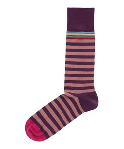 Paul Smith | Mens Multi-Coloured Top Stripe Socks