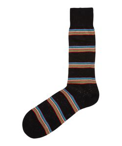 Paul Smith | Mens Multi-Coloured Block Stripe Socks