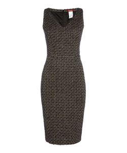 Max Mara | Eritea Sleeveless Boucle V Neck Dress