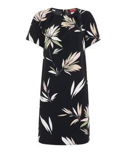 Max Mara | Max Leaf Print Tshirt Dress