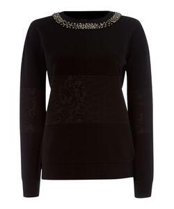 Paul Smith Black Label   Embellished Sweatshirt