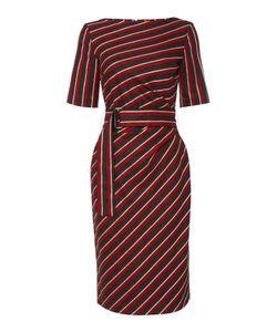 Max Mara | Palato Striped Belted Shift Dress