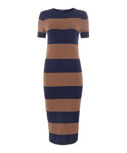 Max Mara | Addi Striped Midi Knitted Dress