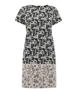 Max Mara | Edere Pattern Block Shift Dress