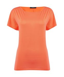 Max Mara | Tenna Short Sleeve Silk Plain Top