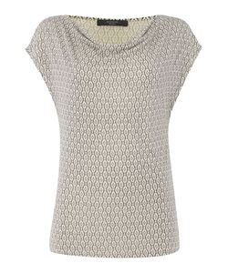 Max Mara | Palermo Cowl Neck Top With Jacquard Print