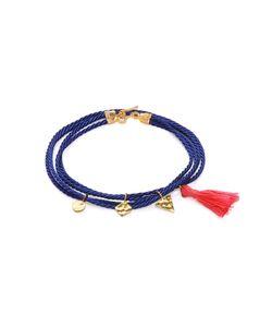 Ottoman Hands   Wrap Cord Charm Bracelet