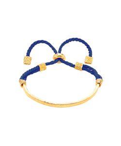 Ottoman Hands   Slider Gold Cord Bracelet