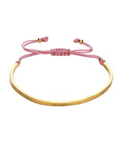 Ottoman Hands   Golden Dusty Pink Cord Bracelet