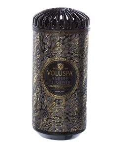 Voluspa | Ambre Lumiere 15oz Ceramic Candle