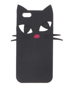 Lulu Guinness   Blk Kooky Cat Iphone 6 Case