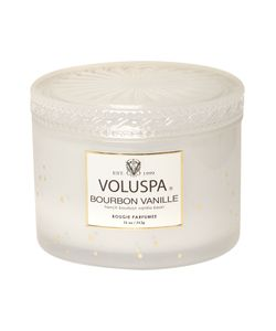 Voluspa | Bourbon Vanille 11oz Corta Maison Glass Candle