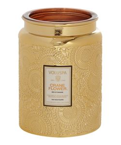 Voluspa | Japonica Crane Flower Large Glass Candle