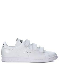 Raf Simons | Sneaker Adidas X Stan Smith In Pelle Bianca
