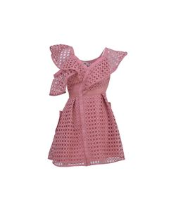 Self-Portrait | The Lace Frill Mini Dress