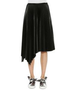 Cédric Charlier | Asymmetric Pleated Skirt