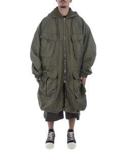 Juun.J | Hooded Military Jacket