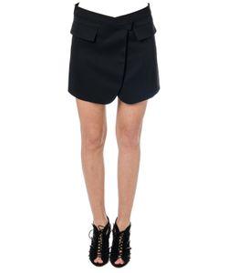 Paco Rabanne | Wool Wrap Skirt