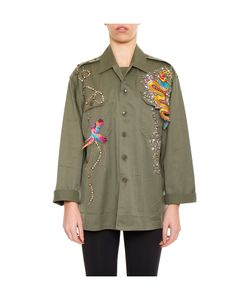 Night Market | Embroidered Vintage Army Jacket