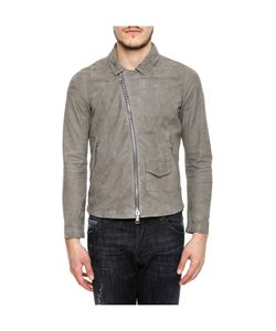 Giorgio Brato | Leather Jacket With Shirt Collar