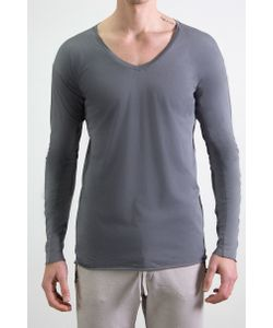 Altalana | T-Shirt Scollo V Manica Lunga 100 Cotone