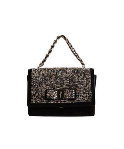 Salvatore Ferragamo | Shop Online Black Suede Shoulder Bag