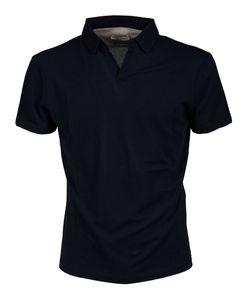Paolo Pecora | Open Collar Polo Shirt