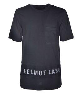 Helmut Lang   Mesh Logo T-Shirt