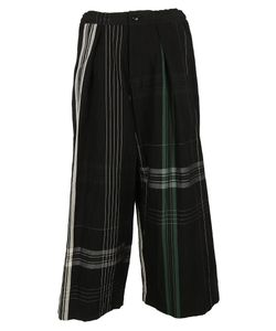 Y's   Striped Print Trousers