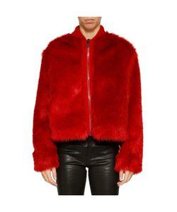 Giamba | Cropped Furry Jacket