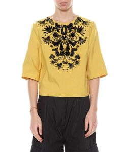Dries Van Noten | Short Sleeves Embroidered Top