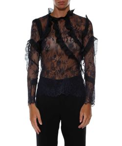 Self-Portrait | Sheer Eva Blouse