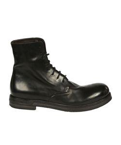Marsèll | Distressed Combat Boots
