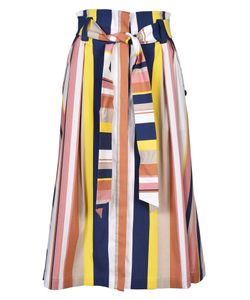 Tanya Taylor | Striped A-Line Skirt