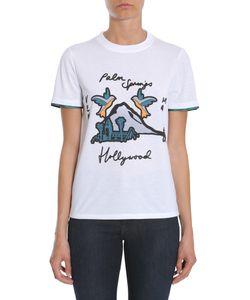 Victoria, Victoria Beckham   Round Collar T-Shirt