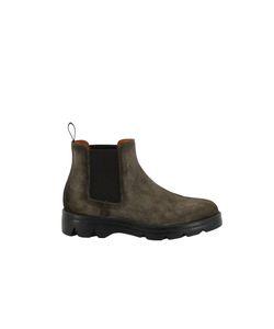 Santoni | Nabuk Ankle Boots