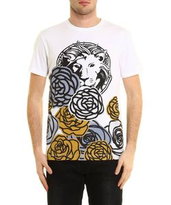 Versus | T-Shirt Lion And Roses