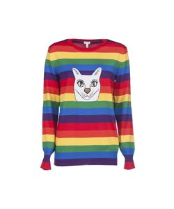Loewe | Cat Rainbow Stripe Intarsia Sweater