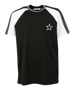 Givenchy | Star Patch Paneled Sleeve T-Shirt