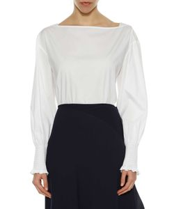 Cédric Charlier | Long Sleeves Cotton Blouse