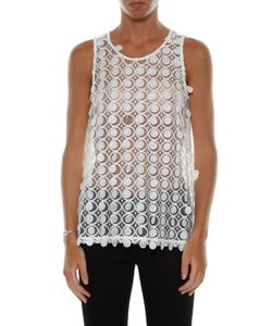 Carven | Lace Tank Top